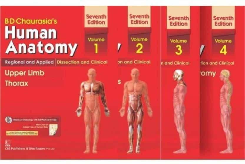 Anatomy Study Books B D Chaurasia